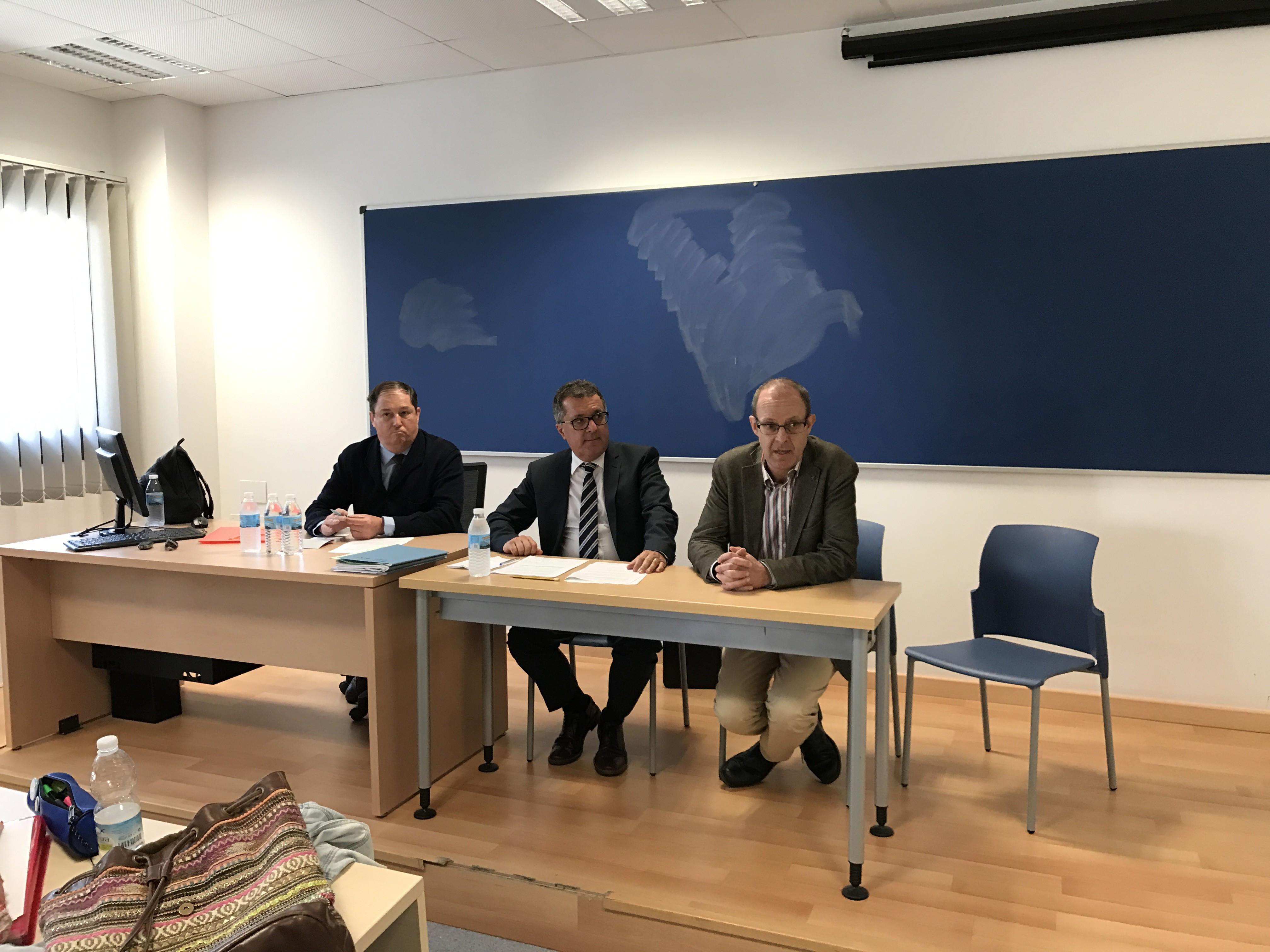 Charles Gomez Talks Relationships Between UK & Spain: University of Cadiz Image