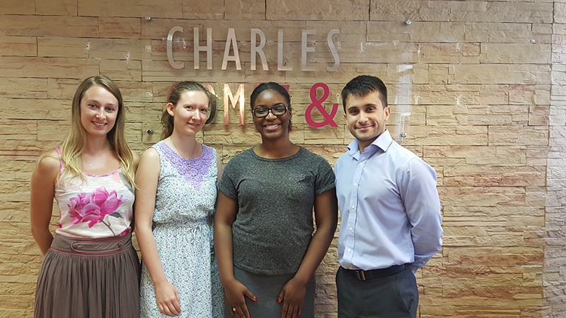 Friends of the British Overseas Territories Visit Charles Gomez & Co - National Day 2015 Image