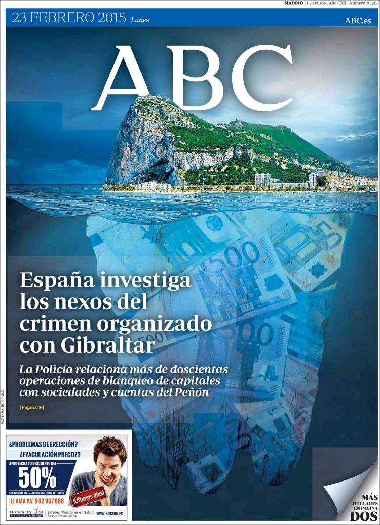 Spanish National Newspaper Forced to Rectify Accusations against Gibraltar Image